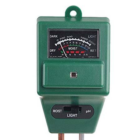 Sonda medidor de ph luz y humedad venta de l pulo for Medidor ph tierra